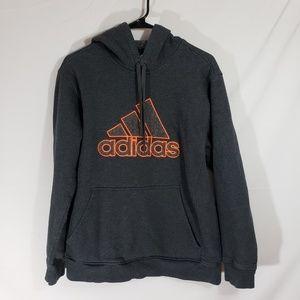 Adidas Men's Gray Hoodie Sz L